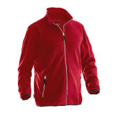 Jobman 5901 Microfleece jacket rood 4xl