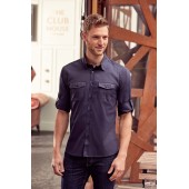 Men's roll sleeve shirt - long sleeve