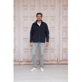L&S Polar Fleece Cardigan Bonded