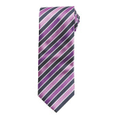 Candy stripe tie navy / magenta 'one size