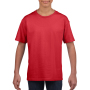 Gildan T-shirt SoftStyle SS for kids Red XS