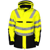 PROJOB 6418 PADDED JACKET YELLOW/BLACK HV S