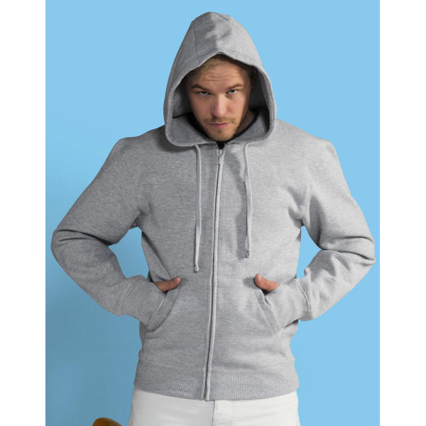 Men's Full Zip Urban Hoodie