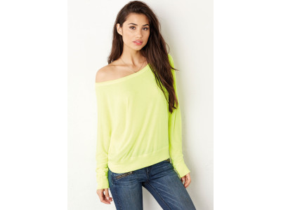 Flowy off the shoulder long sleeve t-shirt