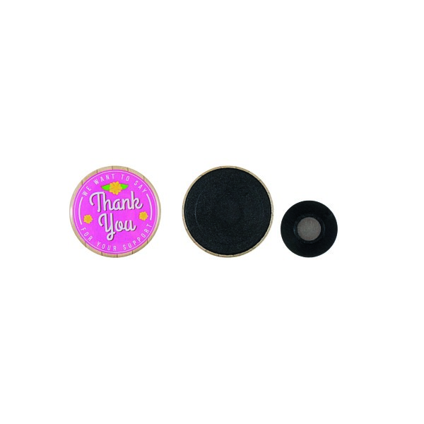 Kleding magneet button 37 mm