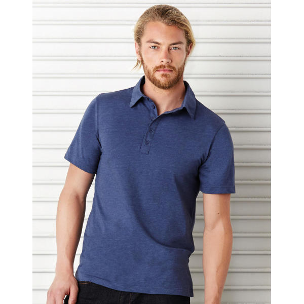 Jersey 5 Button Polo