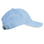sky blue / white one size