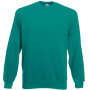 Classic raglan sweat (62-216-0) emerald xxl