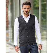 Men's V-Neck Sleeveless Knitted Cardigan