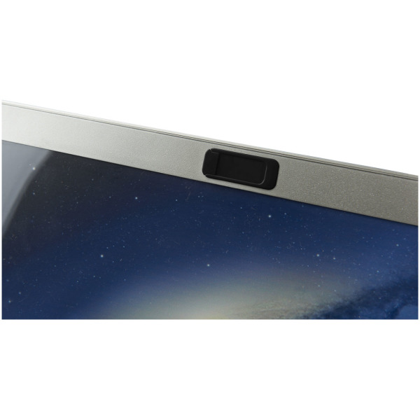Push privacy webcam cover