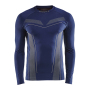 Craft Pro Control seamless jersey ls men navy xs