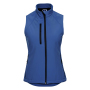 Ladies Softshell Gilet, Azure Blue, XS, RUS