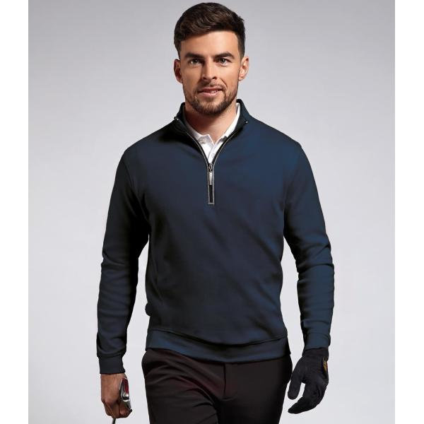 Artemis Zip Neck Sweater