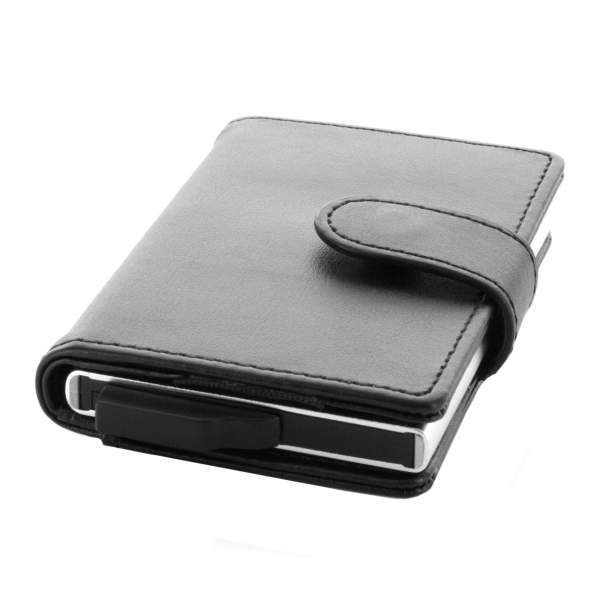 Valenta Card Case Plus Wallet Black