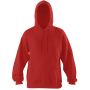 Ultimate Hooded Sweat, Bright Red, S, STW