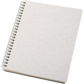 Blanco A5-formaat wire-O notitieboek - Wit