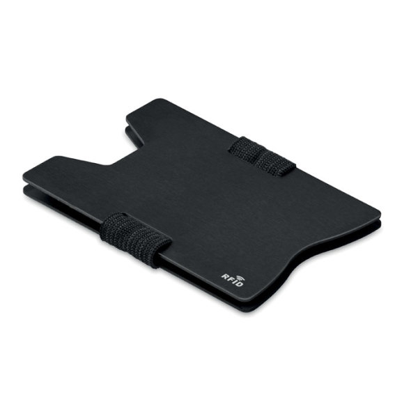 SECUR - Aluminium RFID card holder