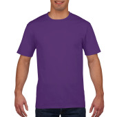 Gildan T-shirt Premium Cotton Crewneck SS for him Purple S