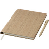 Bardi A5 hardcover notitieboek - Naturel