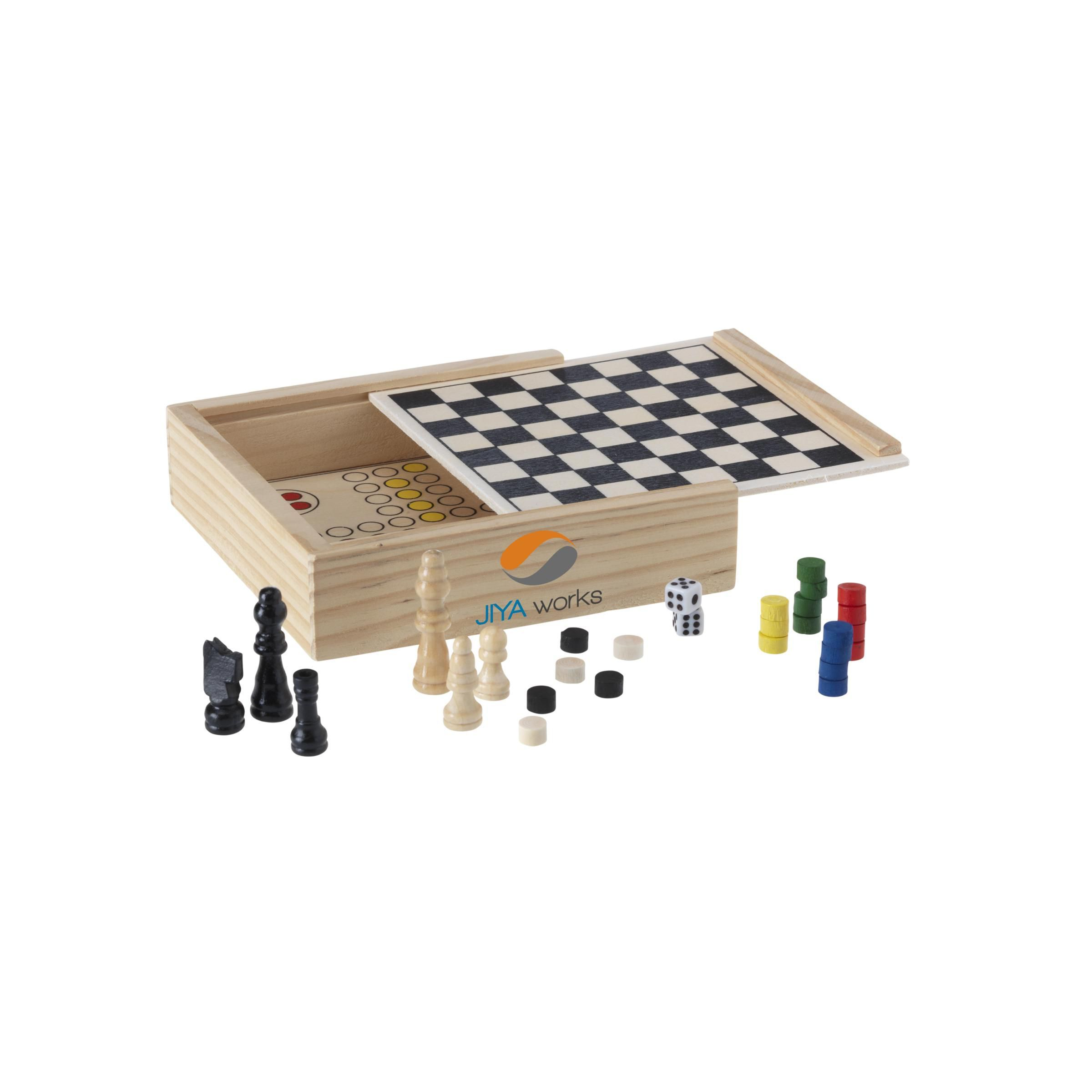 WoodGame 5-in-1 spel