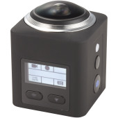 Surround 360° wifi actiecamera - Zwart