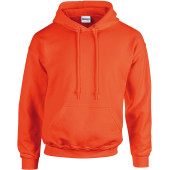 Heavy blend™ classic fit adult hooded sweatshirt orange xxl