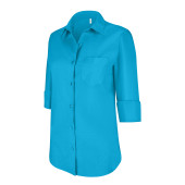 Chemise manches 3/4 femme
