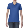 Gildan Polo Performance Double Pique SS for her Royal Blue M