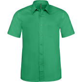 Ace - heren overhemd korte mouwen kelly green 6xl