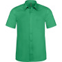 Ace - heren overhemd korte mouwen kelly green 3xl