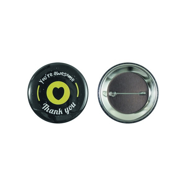 Speld button 56 mm