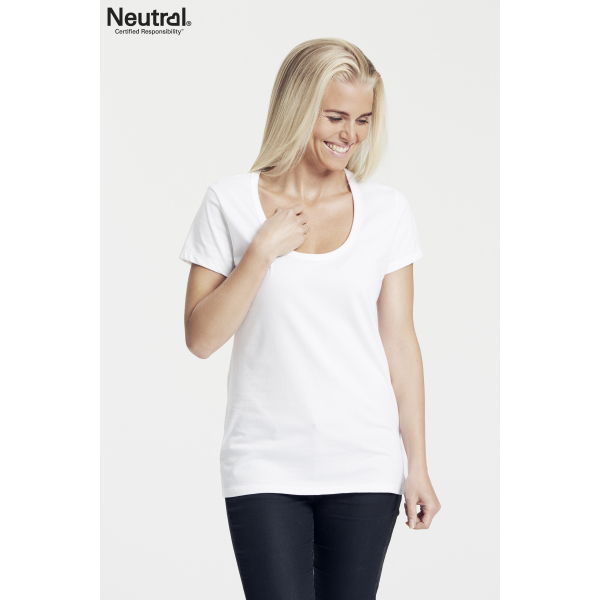 Neutral Ronde Hals T-Shirt Vrouw - O81002