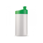 Sportbidon design 500ml - Wit / Groen