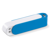 Powerbank Transformer 2200mAh - Wit / Blauw