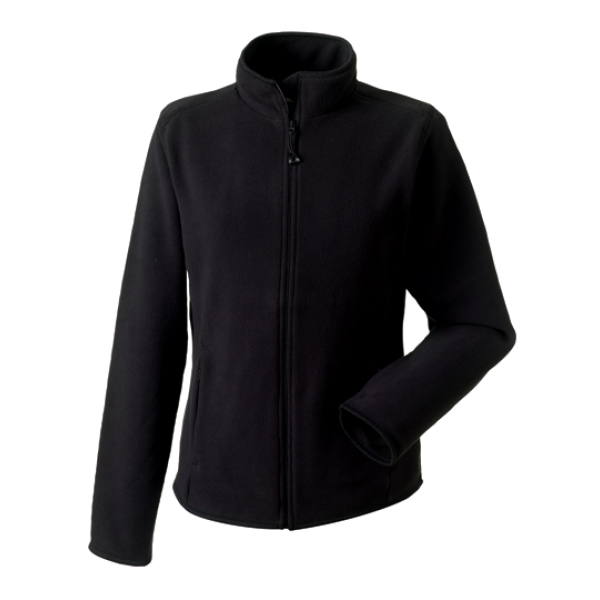 Dames Fitted Full Zip Microfleece