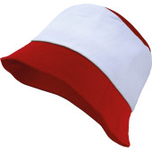 Bob red / white one size