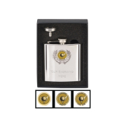 Golf Trophie Vision Hip Flask with Driver Label