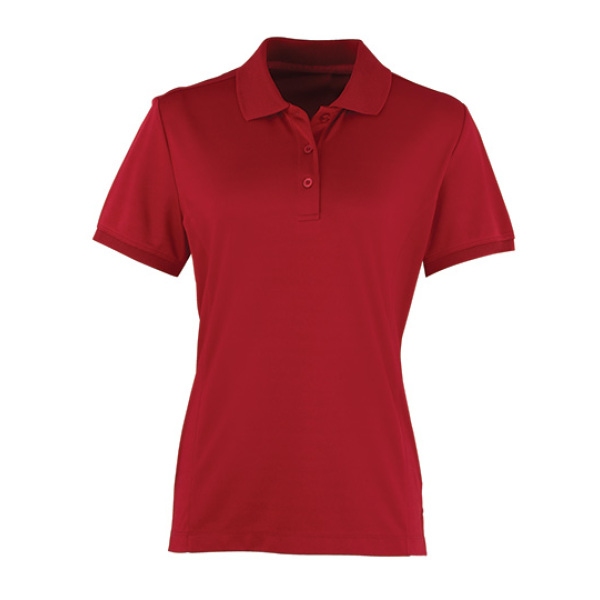 Dames Coolchecker Piqué Polo