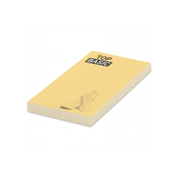 25 adhesive notes, 50x72mm, full-colour