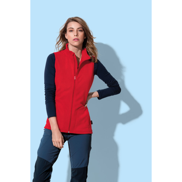 Stedman Polar Fleece Vest for her