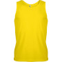 Herensporttop true yellow s
