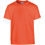 Heavy cotton™classic fit youth t-shirt orange '7/8 (m)