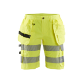 Dames High Vis short met stretch