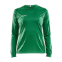 Craft Squad solid jersey LS wmn team green xs