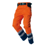 Werkbroek ISO20471 Bicolor 503002 Fluor Orange-Navy 62