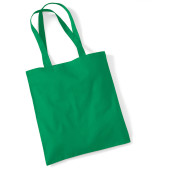 Bag for life - long handles kelly green one size