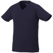 Amery cool fit V-hals heren t-shirt met korte mouwen - Navy - 3XL
