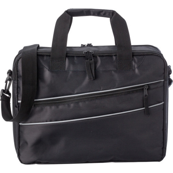 Polyester (600D/twill) laptoptas