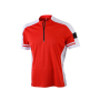 Men's Bike-T Half Zip rood