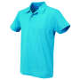 Stedman Polo SS for him ocean blue S
